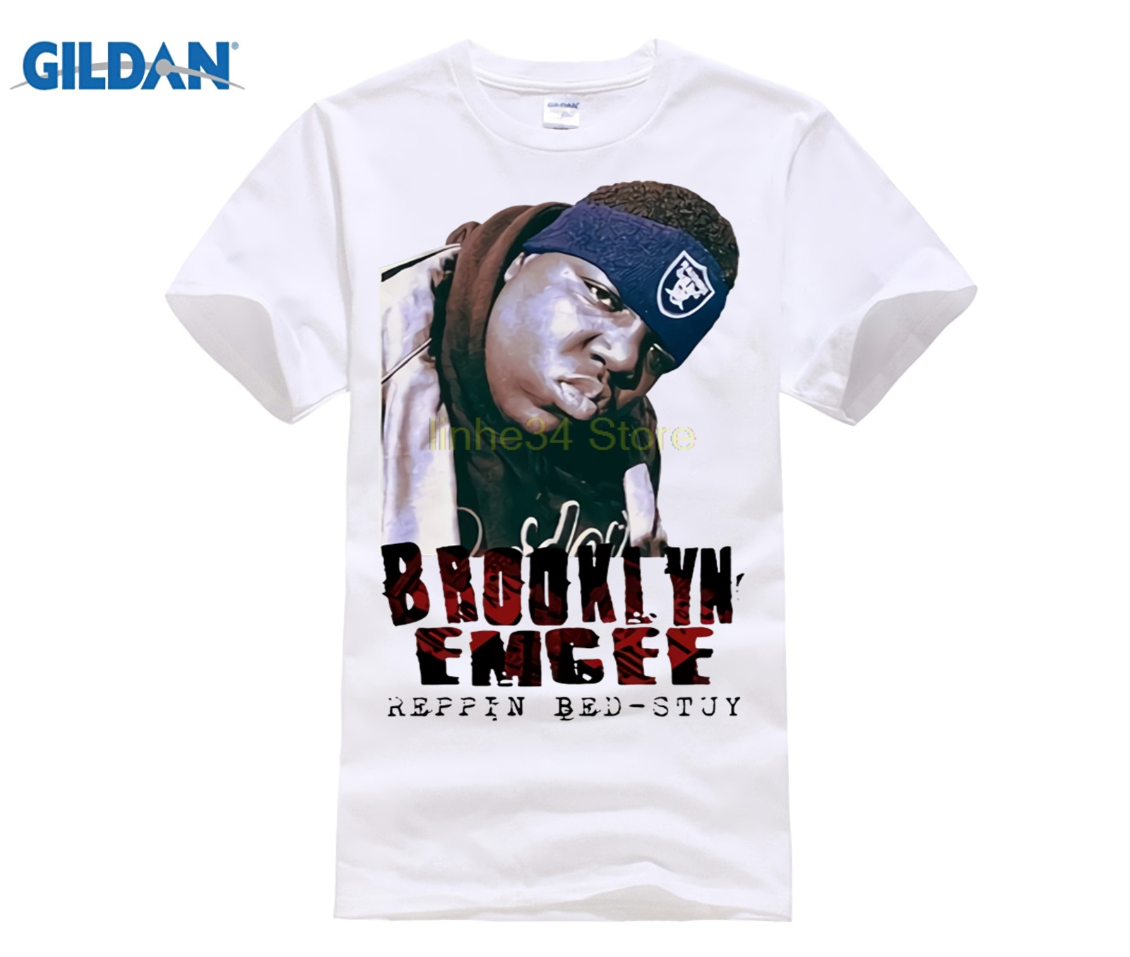 fe5640cb79199 Jay Z Homme Jay and Biggie Reasonable Doubt Brooklyn T-Shirt T shirt