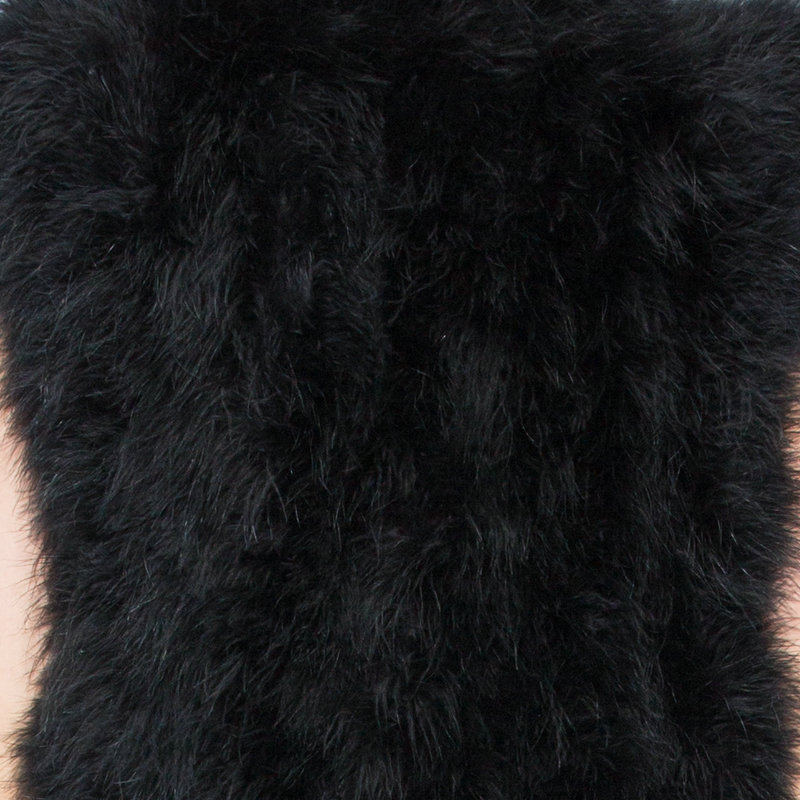 Новинка, жилет из страусиного волоса 70 см, длинная шапка, маленькая, свежая,, индейка, пуховая жилетка, натуральное меховое пальто, зашифрованное, ручное плетение - Цвет: as picture 09