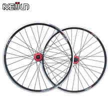 """26"""" inch 32 Holes  Mountain Bikes Road Bicycles V brake Disc Brake Dual purpose Wheel Hubs Aluminum Rim knife circle Wheelset"""