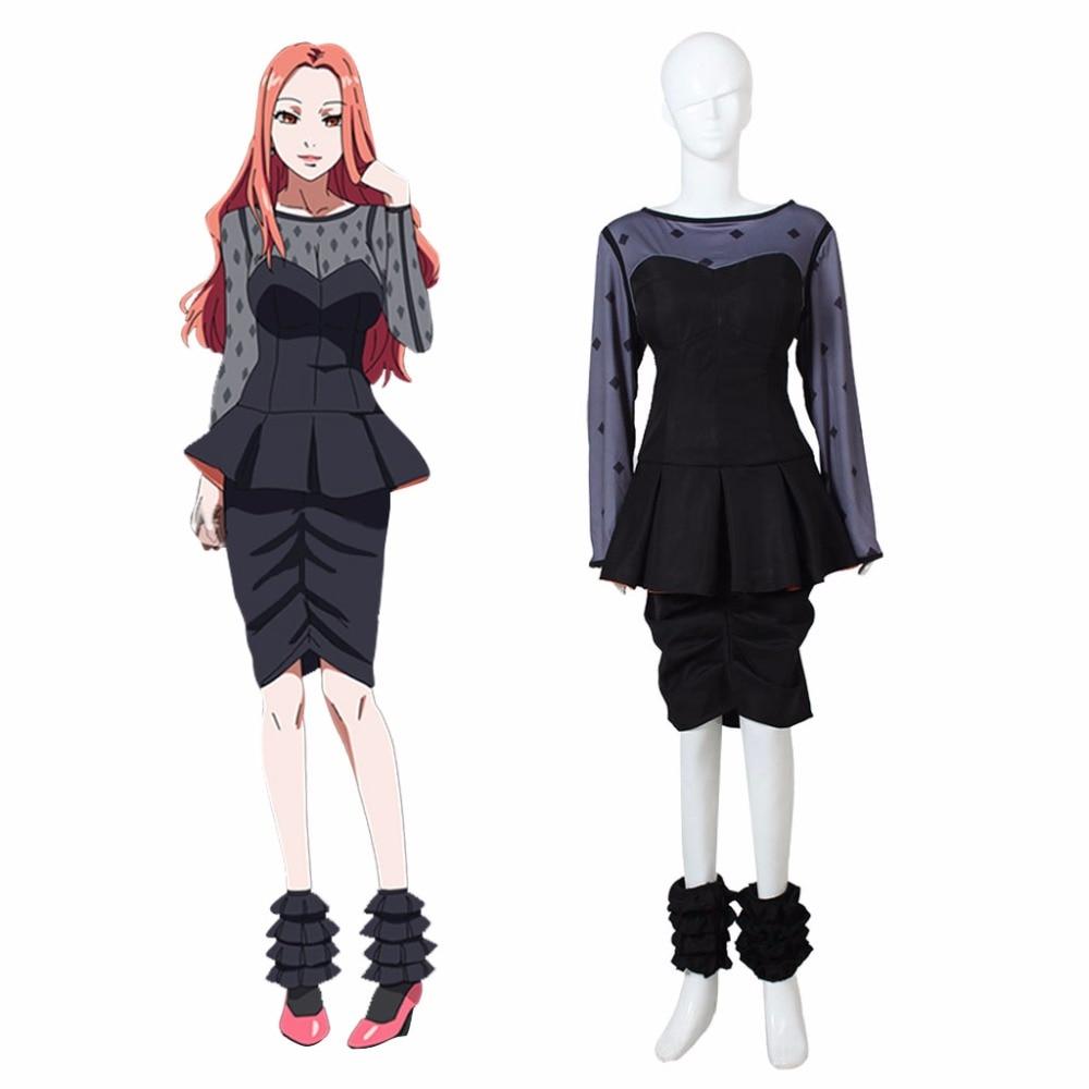 Tokyo ghoul cosplay costume Anime Women sexy bar dress ...