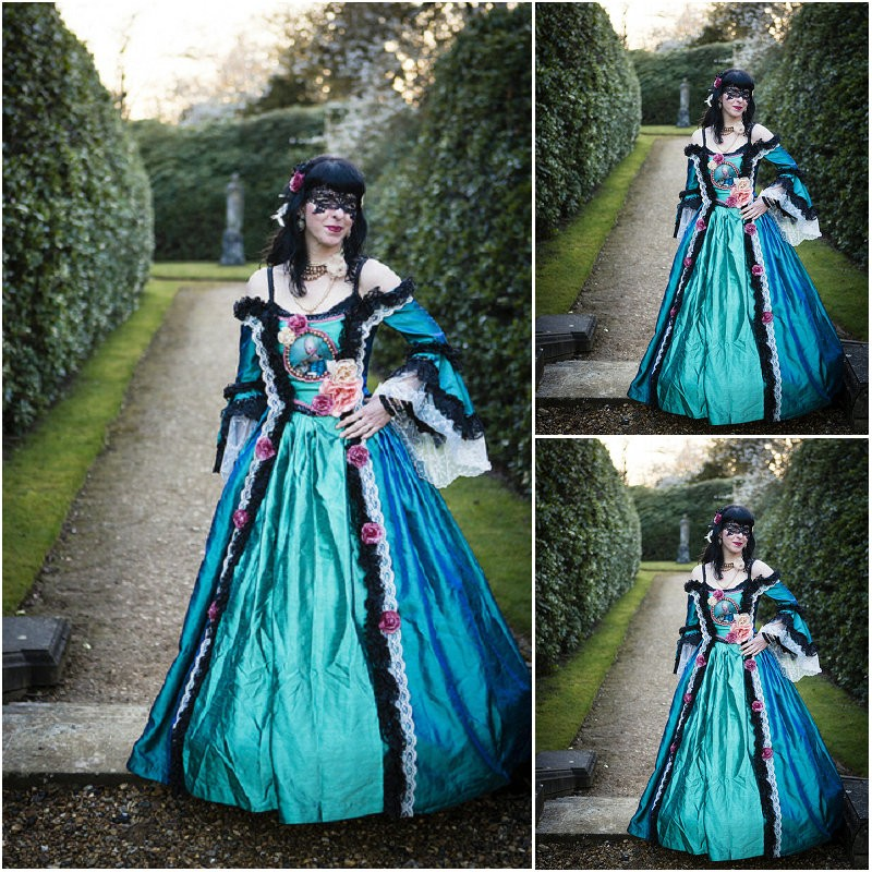SC 252 Victorian Gothic Vintage font b Dress b font Halloween Theater Movie font b dresses