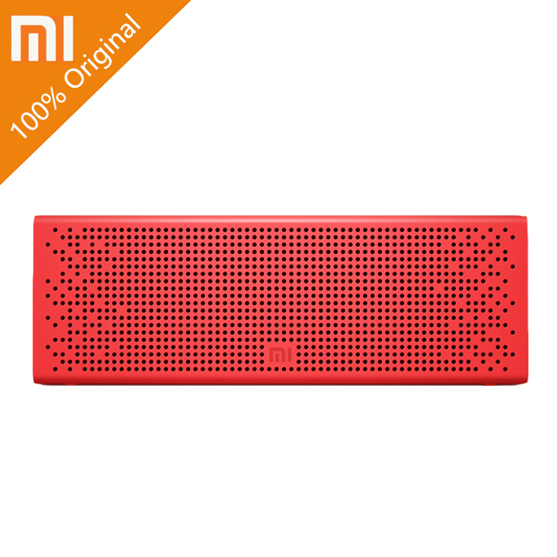 XIAOMI Mi Mini Portable Wireless USB Bluetooth Speaker Column Loudspeaker Vibrating Speakers Music Bluetooth Player Receiver getihu portable mini bluetooth speakers wireless hands free led speaker tf usb fm sound music for iphone x samsung mobile phone