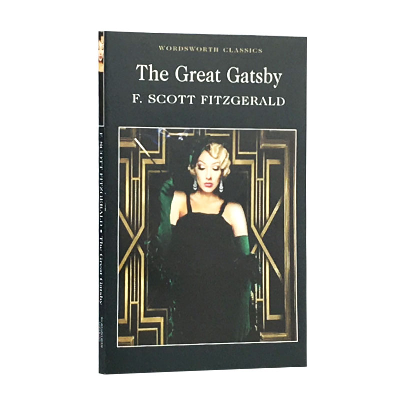 The Great Gatsby English Version New Hot Selling Fiction Book For Adult Libros