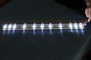 Image 1 - 4 جزء/الوحدة لتوشيبا 32 LED قطاع VES315WNDA01 يناسب VES315WNDL01 و WNDS01 11LED 574 ملليمتر