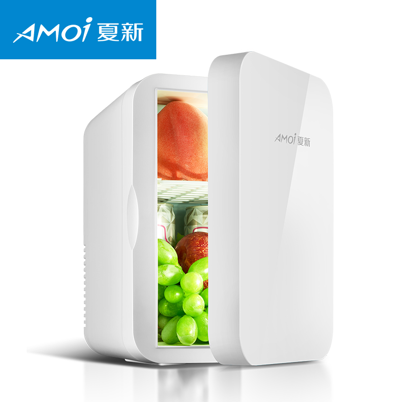 6L Mini Car Fridge Warmer Freezer 2 In 1 Multi-function 12V Travel Refrigerator Thermos Electric USB Refrigerating Machine
