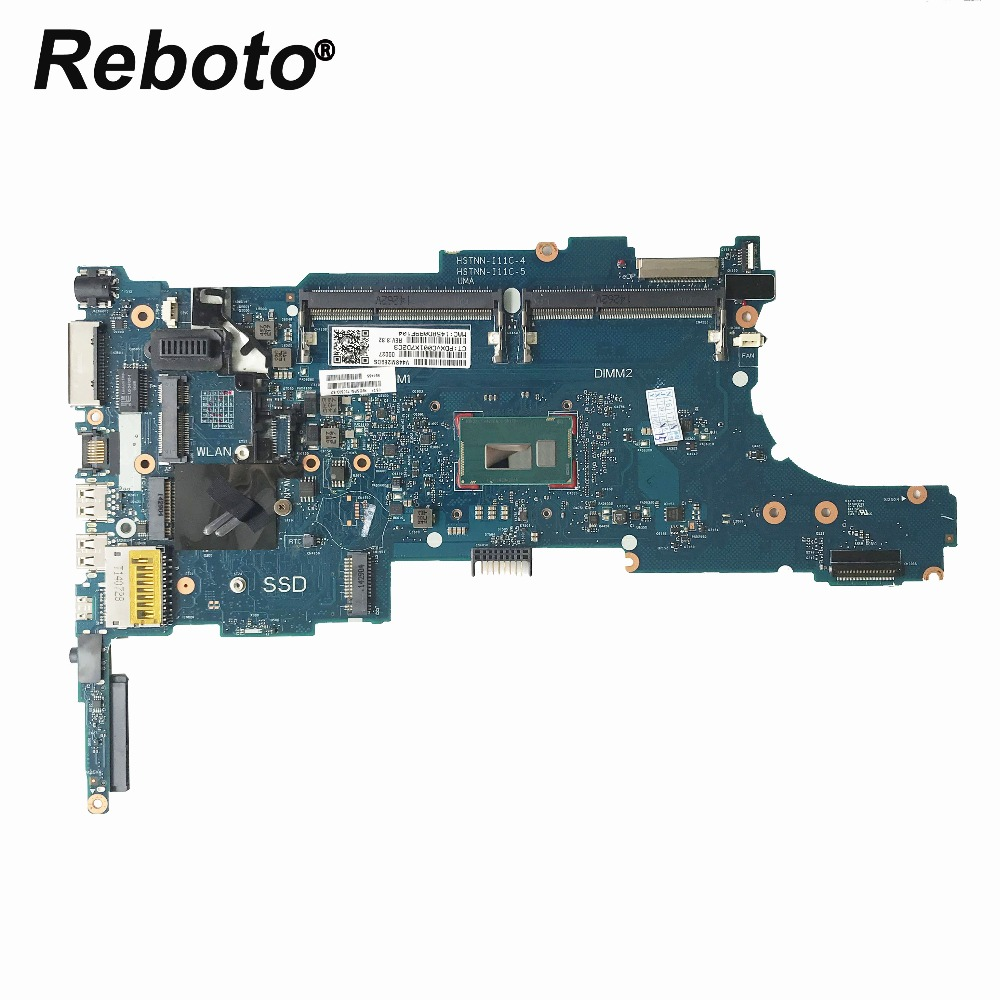 Reboto FOR HP 840 G1 Laptop motherboard With SR1ED i5 4300u CPU 730803 601 730803 501