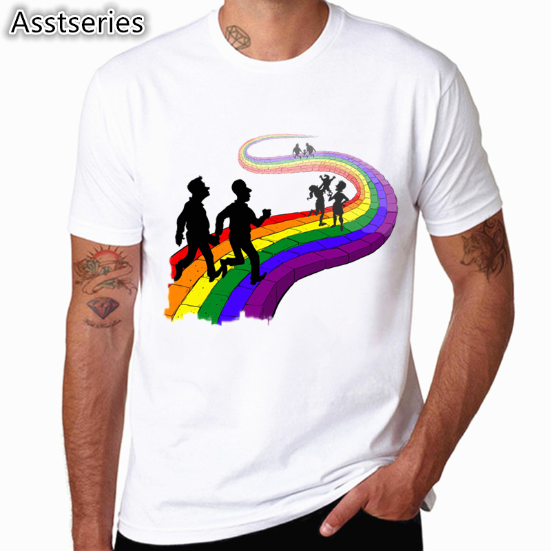 LGBT Pride Month Men And Women   T     Shirt   LGBTQ Pride Tee Hip Hop Short Sleeve Casual Printed   t  -  shirt   top Tee HCP4480