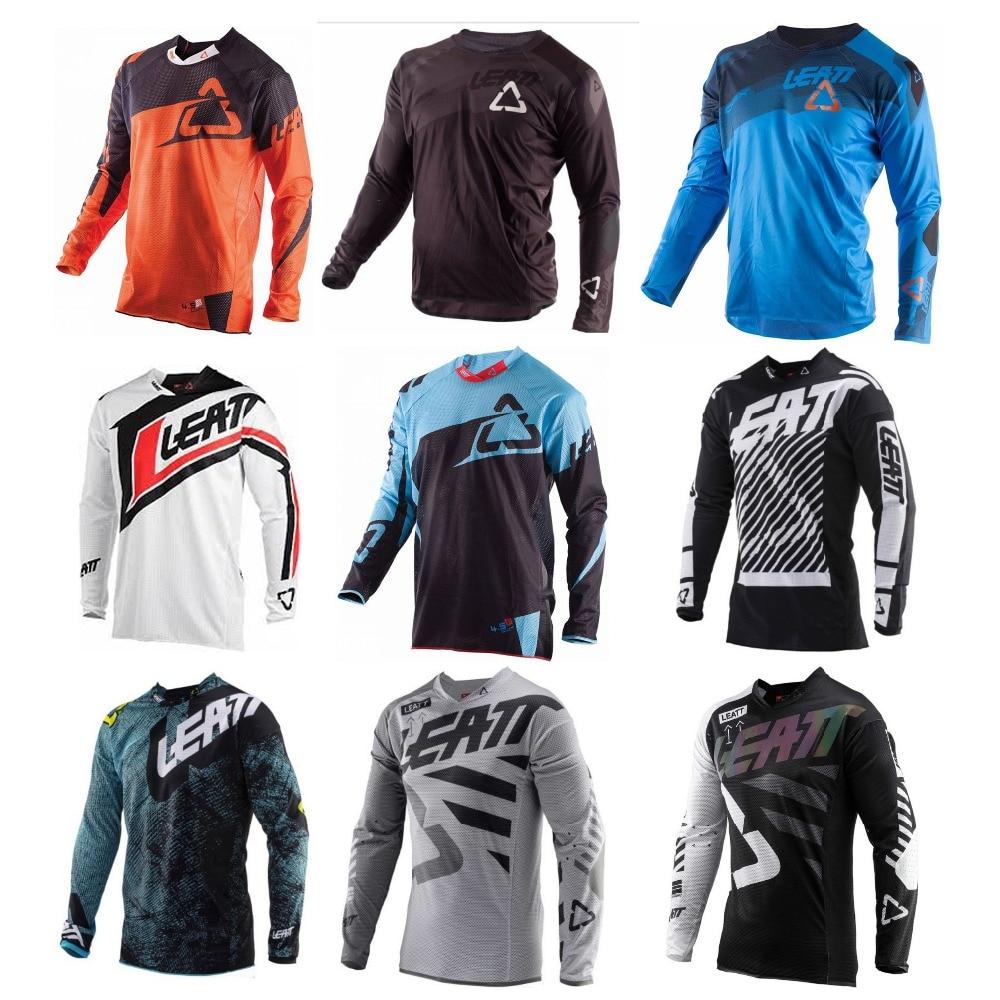 MTB T-Shirt Sportswear Jersey-Bmx Offroad DH Mountain-Bike Mtb-Enduro Motocross LEATT