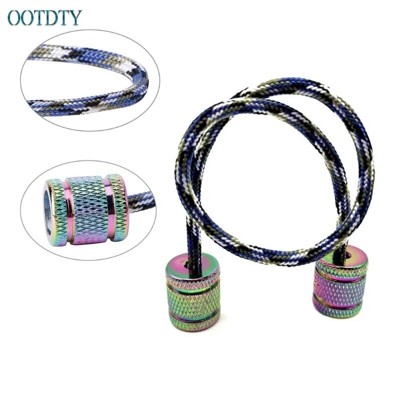 Aluminum Alloy Begleri Fidget Toy Worry Beads Finger Skill Paracord Stress Toys #330