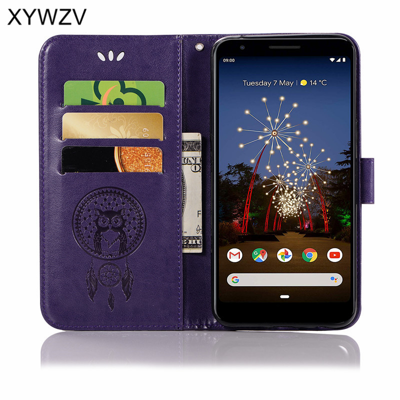 For Google Pixel 3a Xl Case Flip Wallet Soft Silicone Rubber Phone Case Card Holder Fundas Cover For Google Pixel 3a Pixel 3a Xl in Wallet Cases from Cellphones Telecommunications