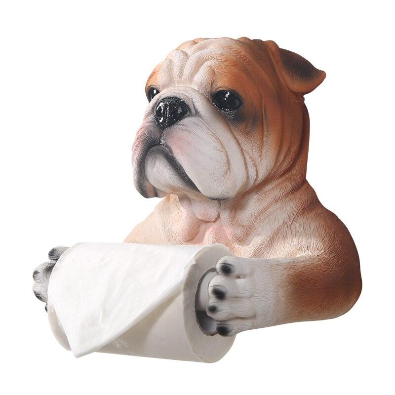 Europäischen Badezimmer Kreative Handarbeit stier hund form handtuch ...