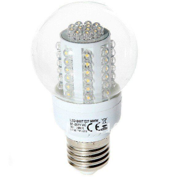 Free Shipping,Wholesale,3W,E27LED corn bulb light,warm white, 60pcs LEDs,high quqlity,warranty 12 Months