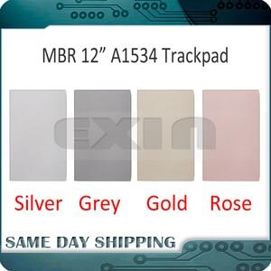 """Image 1 - ใหม่สำหรับ MacBook Retina 12 """"A1534 ทัชแพด Trackpad พื้นที่สีเทาสีเทา/เงิน/ทอง/Rose Gold Pink สี 2015 2016 2017 ปี"""