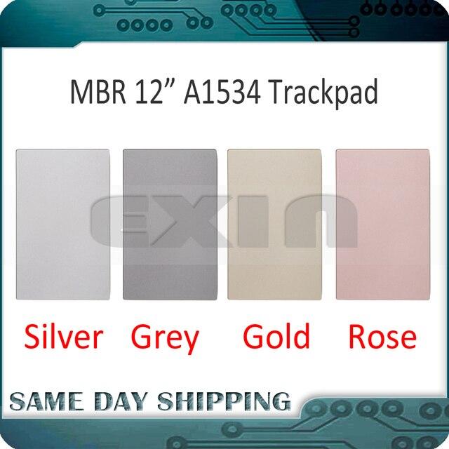 """ใหม่สำหรับ MacBook Retina 12 """"A1534 ทัชแพด Trackpad พื้นที่สีเทาสีเทา/เงิน/ทอง/Rose Gold Pink สี 2015 2016 2017 ปี"""