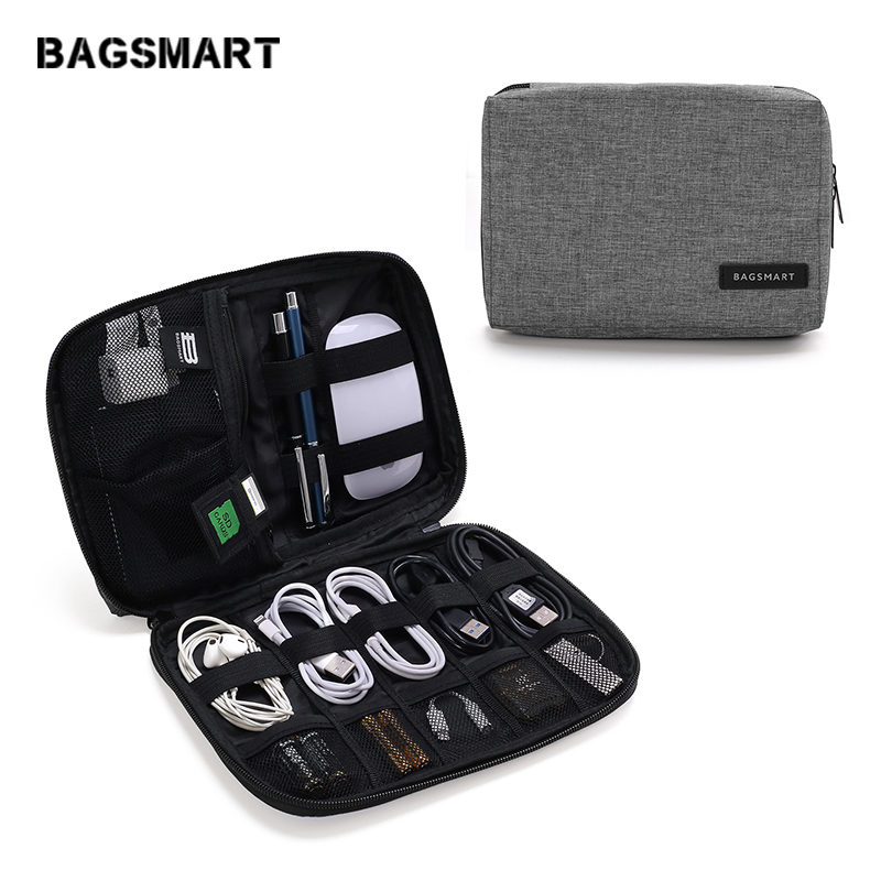 d24a1b46cce6 Pk Bazaar bagsmart bagsmart waterproof travel wire bag elec in ...