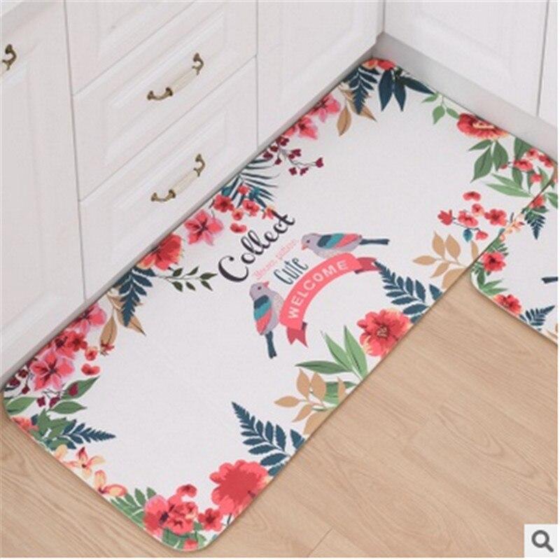 XYZLS Fashion Front Bed Mat Kitchen Bar Floor Mat Cartoon Bathroom Anti-slip Carpet Living Room Decoration Tapetes 2sizes