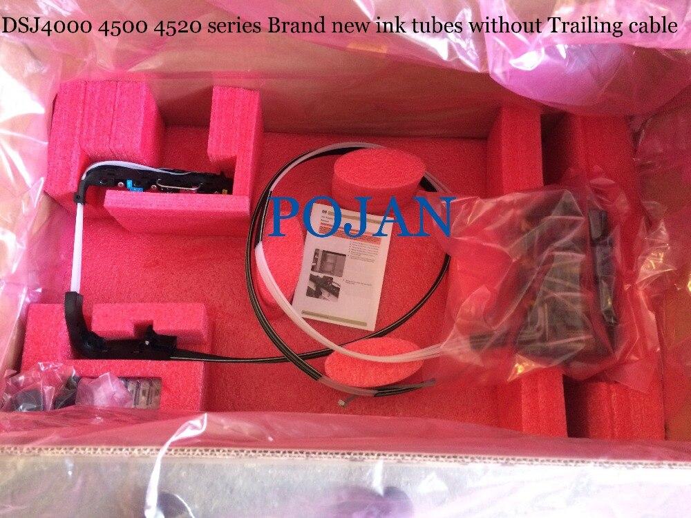 Tubes d'encre système Q1273-60300 Q1273-60254 Designjet 4000 4500 ps 4520 ps d'encre traceur tête d'impression tube 42 pouces CQ109-67004 Q1273-60228
