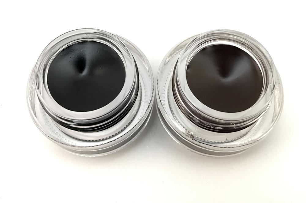 2 in 1 brown + black gel eyeliner make up free shipping waterproof freeshipping cosmetics set eye liner makeup eye 14