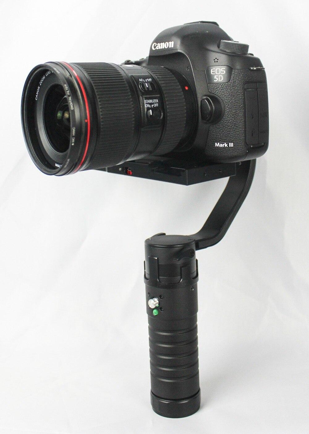 F16556 Beholder DS1 3-Axle Handhled Gimbal Stabilzier Support Canon 5D 6D 7D DSLR VS MS1 Nebula 4000 lite brushless gimbal metal holder bracket for dslr beholder ds1 gimbal ms1 ec1