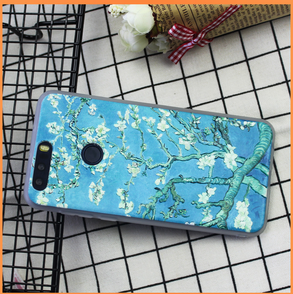 !ACCEZZ Soft Funny Cartoon Protective Back Cover Case For Huawei P9 Mate 89 Honor 78 Case Bumper TPU Painting Shell Funda Capa (13)