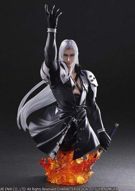 10cm Final Fantasy Vii Sephiroth Bust Play Arts Action