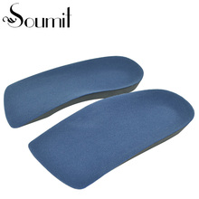 High Elastic Breathable Foam EVA Treatment of Diabetic Insole Orthotics Flat Feet Arch Support Health Care Insoles Heel Pads