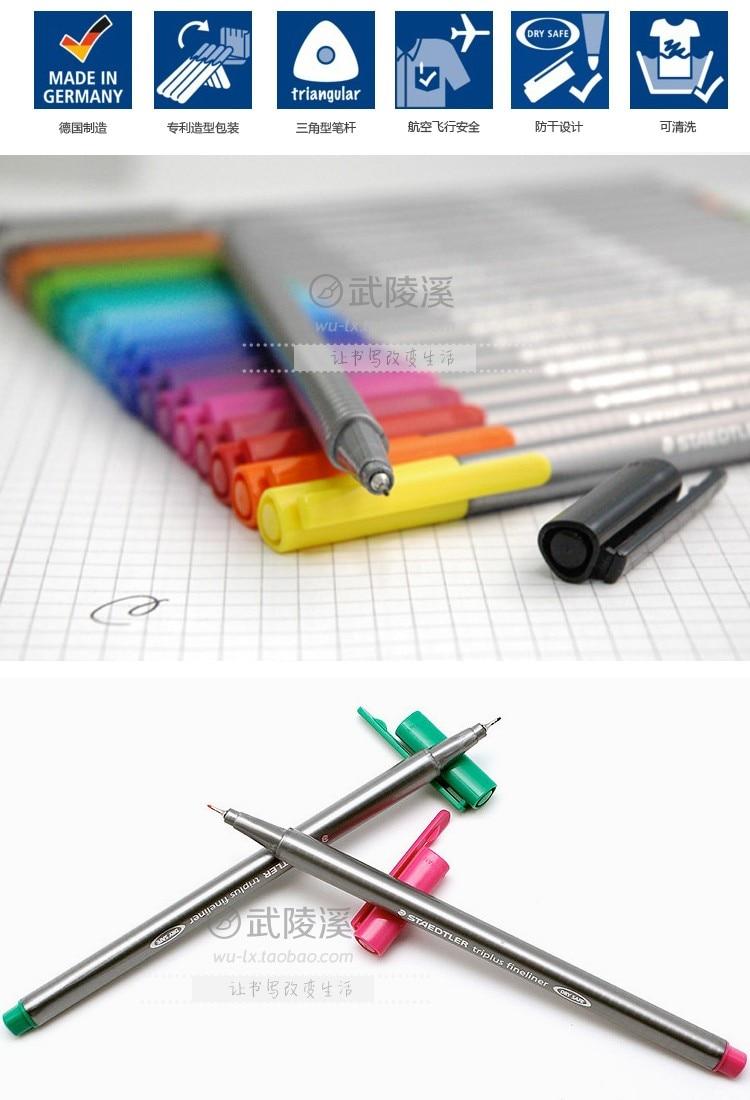 fibra cor caneta gel 0.3mm 4 10