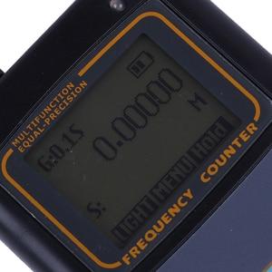 Image 5 - Contador de frecuencia portátil medidor de escáner IBQ102 10Hz 2,6 GHz para Baofeng Yaesu Kenwood radio escáner medidor de frecuencia portátil