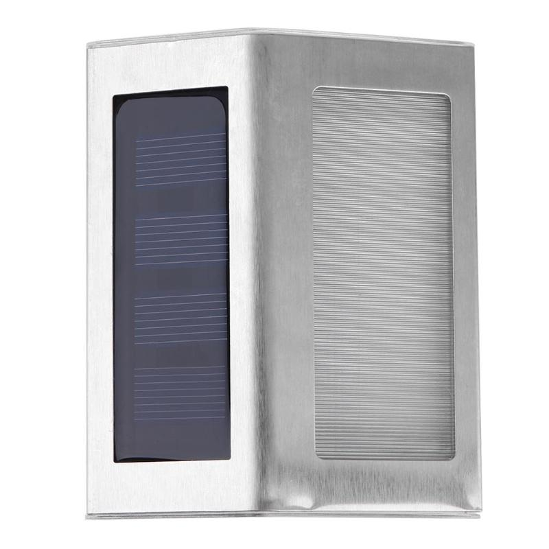 LED Solar Power PIR Motion Sensor Wall Light