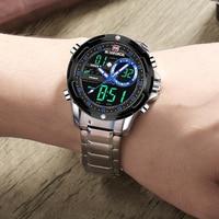 Top Brand NAVIFORCE Men's Fashion Business Analog Quartz Wrist Watch Luxury Digital Sports Watches Mens Clock Relogio Masculino