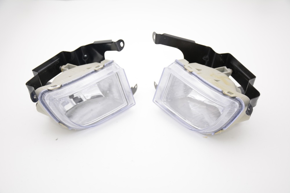 цена на 2 Pcs/Pair Car Front bumper fog lights fog lamp clear lens for Chevrolet Optra 4DR 2004-2007