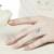 Anel de prata Esterlina ajustável via 8mm pérola Da Borboleta design fahsion jóias presente de natal de aniversário do Dia Dos Namorados para as mulheres