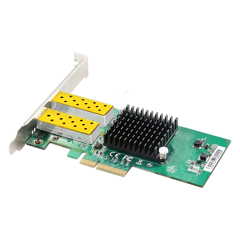 Image 4 - DIEWU 2 Port SFP network card 1G fiber optic network Adapter PCIe