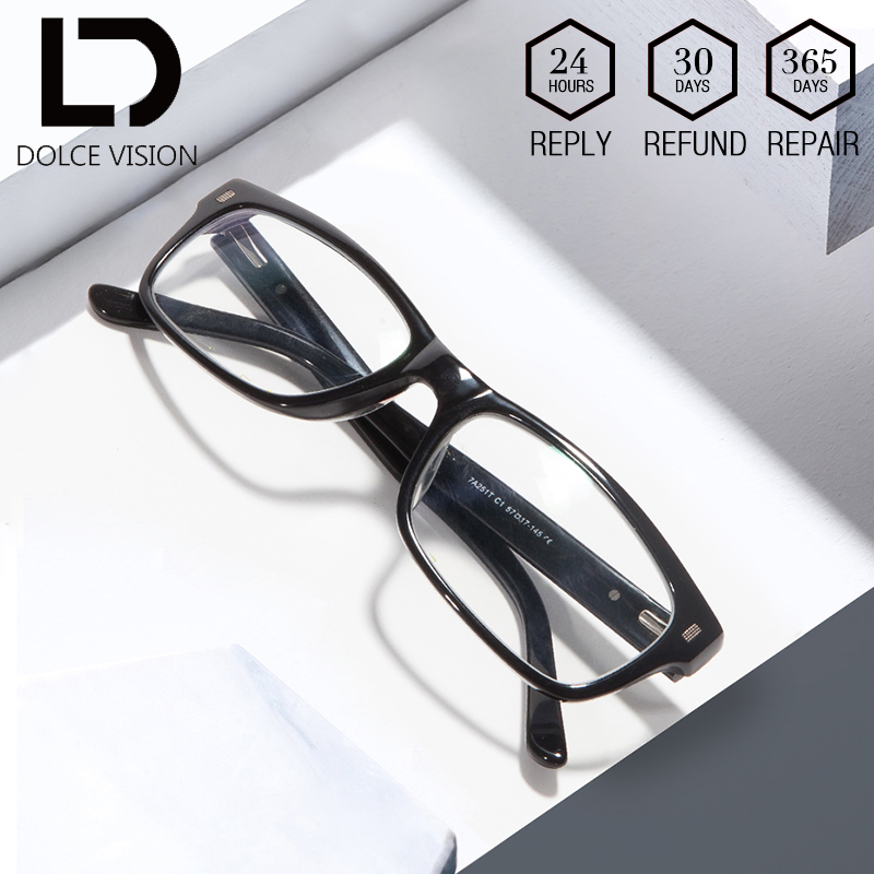 DOLCE VISION Original Spectacles Brand <font><b>Prescription</b></font> With <font><b>Progressive</b></font> <font><b>Glasses</b></font> <font><b>Men</b></font> Astigmatism Graduated <font><b>Glasses</b></font> gafas de hombre image