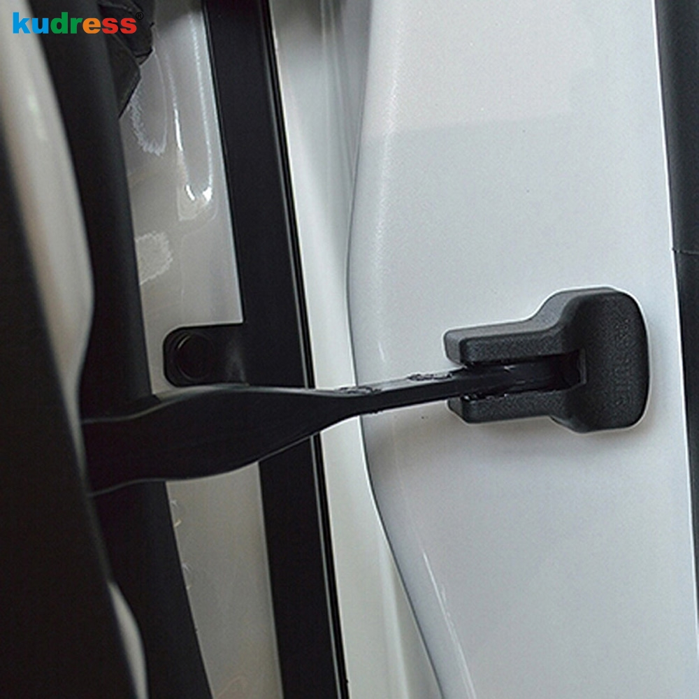 For Nissan Leaf 2017 2018 2019 ABS Plastic Door Check Arm Protection Cover Black Auto Accessories Car-Styling