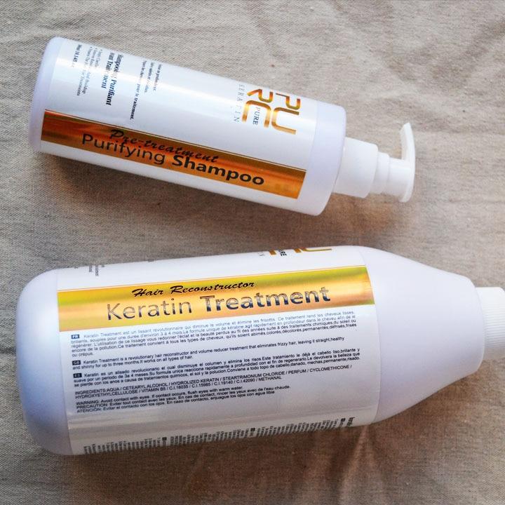 Kératine brésilienne traitement des cheveux formaline 5% 1000ml - Soin des cheveux et coiffage - Photo 4