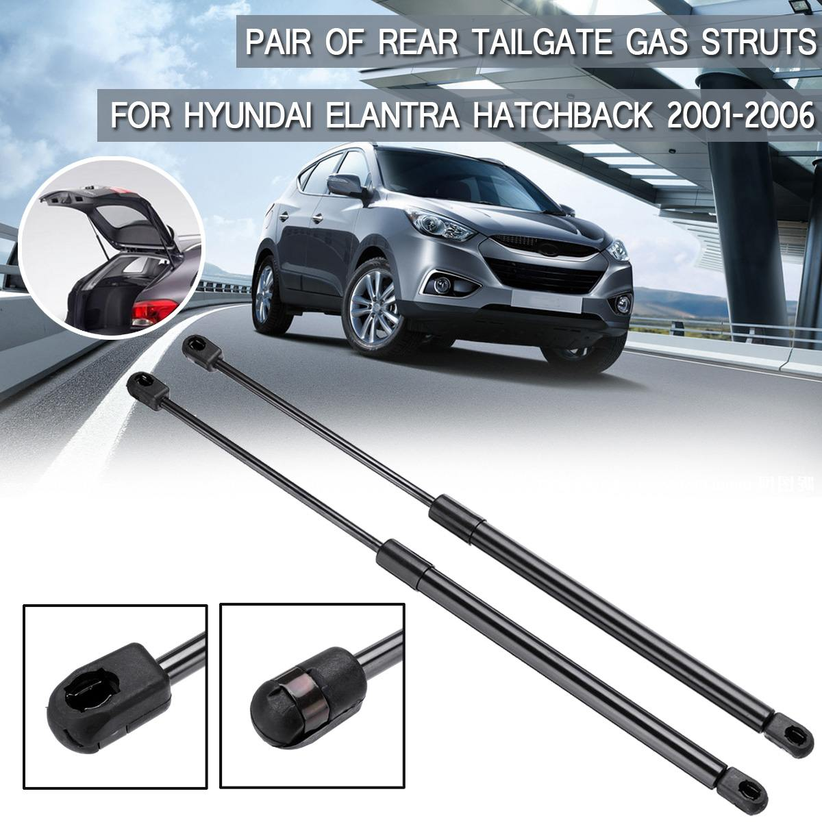 Pair Rear Tailgate Lift Support Gas Struts Gas Springs For Hyundai Elantra Hatchback 2001 2002 2003 2004 2005 2006 81771-2D211