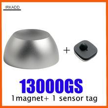 Détacheur magnétique, étiquettes de sécurité 13000GS, étiquette de golf à verrouillage super magnétique avec 1 étiquette dalarme, système de dissuasion anti vol