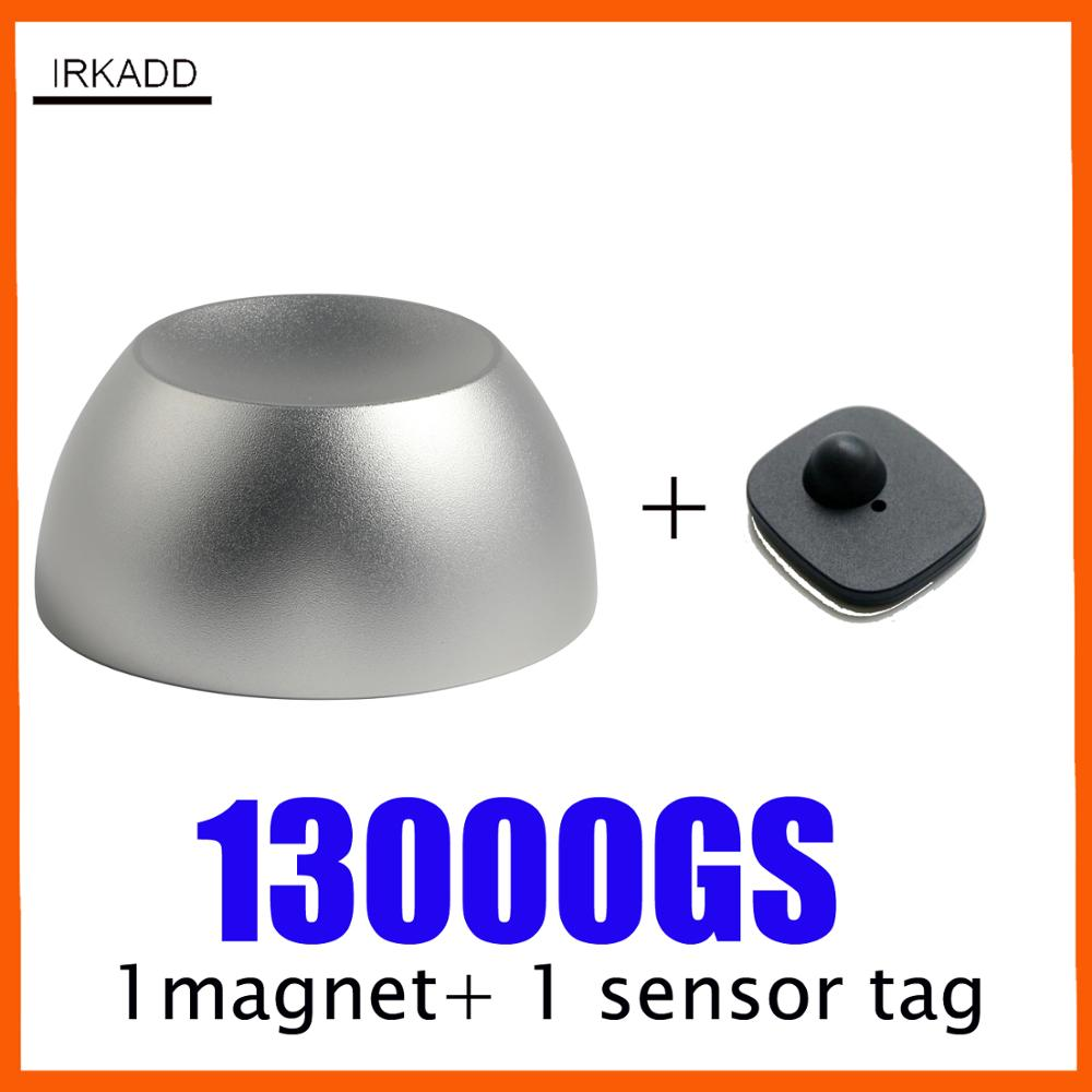 Magnetic Detacher Security Tag 13000GS Super Magnet Lock Golf Tag Detacher With 1 Alarm Tag   Theft Deterrent System