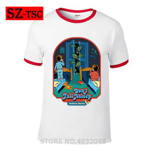 New Men 2019 T Shirt Demon Death Scary Evil Hip Hop Don't Fall Asleep horror Demon Summons T-shirt Psychedelic Loose Tshirt Male printio slow death t shirt