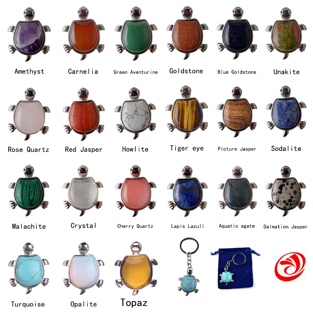 ୧ʕ ʔ୨Последние черепаха кольцо для ключей мода животное черепаха ... ec92618d7bb