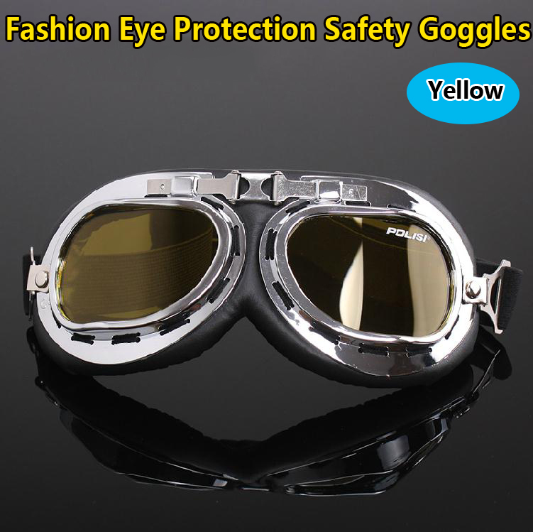 Free shipping Eye protection Yellow lens fashion Cycling glasses Safety Glasses safety goggles цены