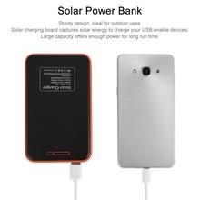 Solar Power bank 30000mAh Portable Waterproof Solar Charger powerbank 30000 mah Dual USB External Battery Power Bank