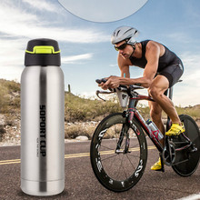 350/500Ml Tea Coffee Drink Vacuum Insulated Flask 304 Stainless Steel Hot Cold Water Bottle Wide Mouth with Sport/Straw/Flex cap