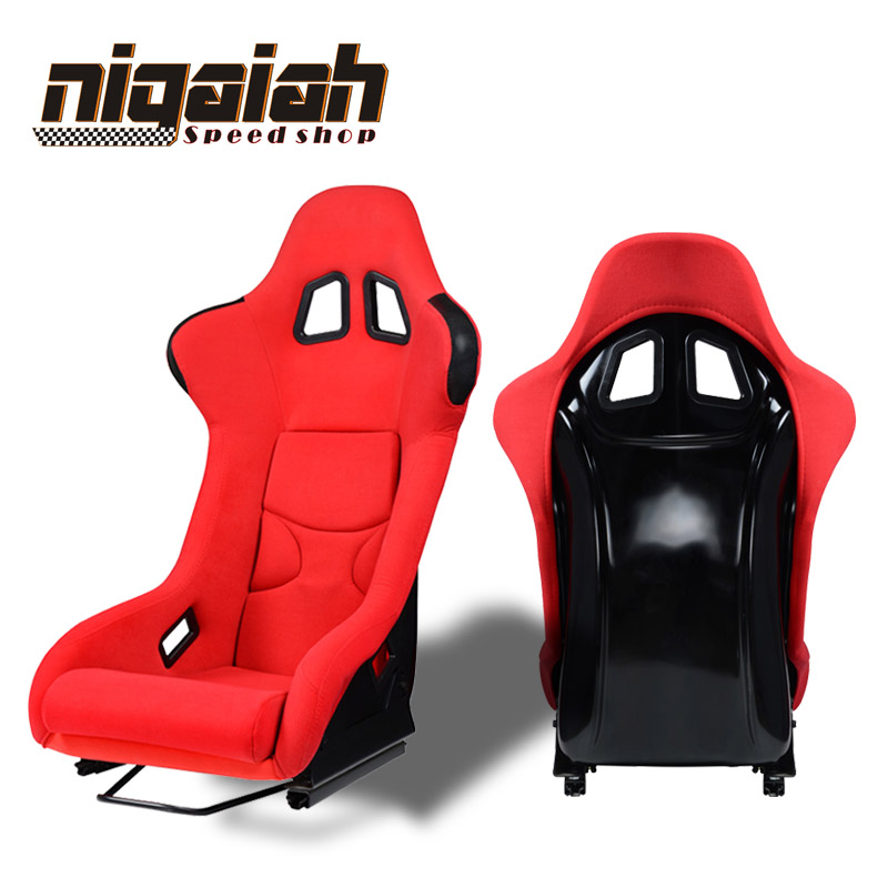 2PCS/LOT Universal Drift Racing Bucket Seat Red/Blue/Black/Yellow Sport Racing Car Seat DRIFT Seat