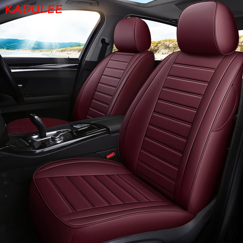 Special Leather Car Seat Covers For Porsche Cayenne Macan: KADULEE Custom Leather Car Seat Cover For Porsche Cayenne