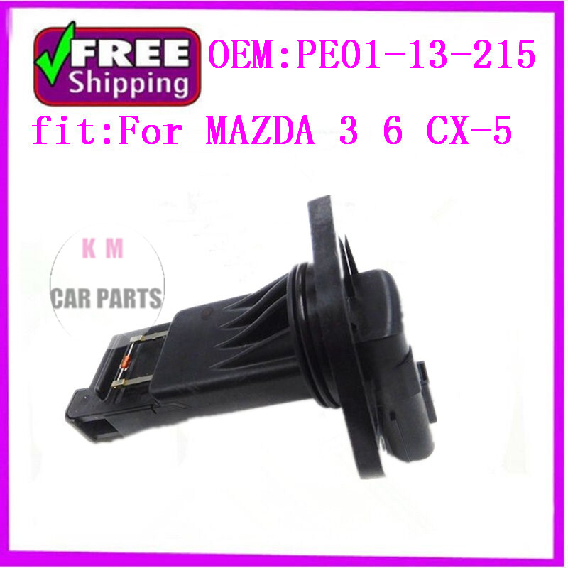 new Air flow SENSOR MAF sensor PE0113215 PE01-13-215 E5T62271 For MAZDA 3 6 CX-5 цена