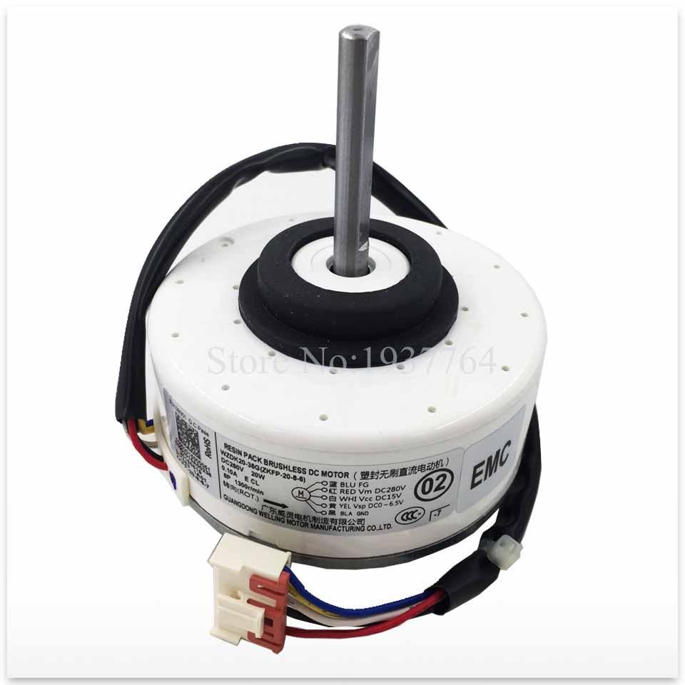 100% nouveau pour climatiseur moteur WZDK20-38G-1 WZDK20-38G ventilateur moteur bon fonctionnement