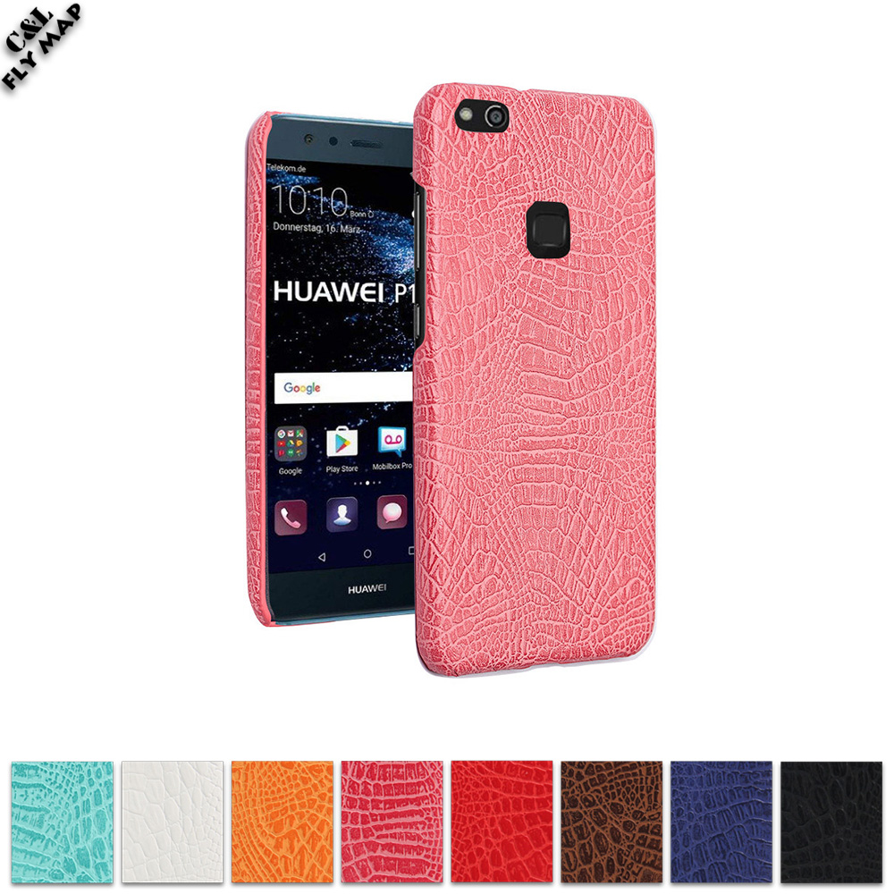 Crocodile Case for Huawei P10 Lite WAS-LX1 WAS-L22J WAS-L03T Hard PC Protective Phone Cover Coque P 10 Lite P10Lite WAS LX1 Bag