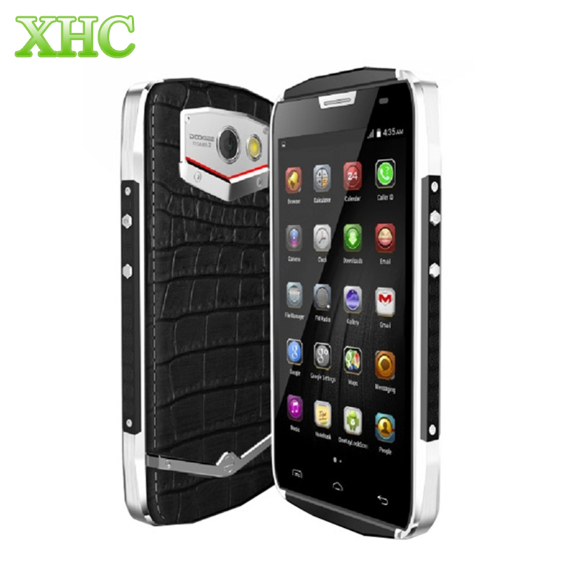 Original DOOGEE TITANS2 DG700 Crocodile 4.5'' 3G Android 4.4.2 Smart Phone MT6582 Quad Core 1.3GHz RAM 1GB ROM 8GB WCDMA 4000mAh